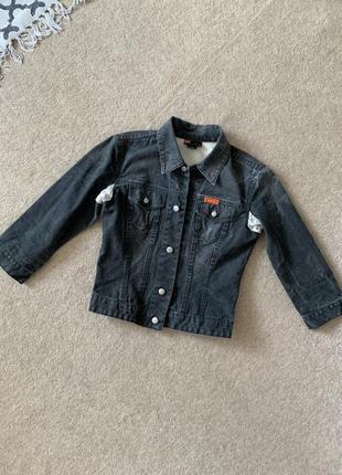 Шикарная джинсовая куртка жакет 🖤👌
