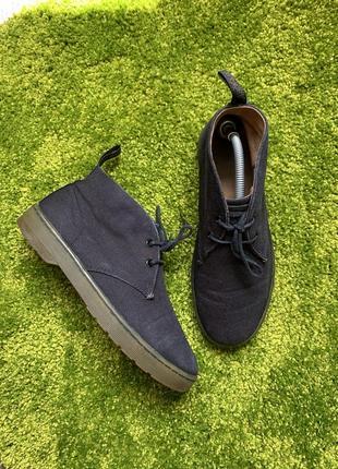 Мужские классические туфли лоферы ботинки dr. martens, размер 42, 27 см1 фото