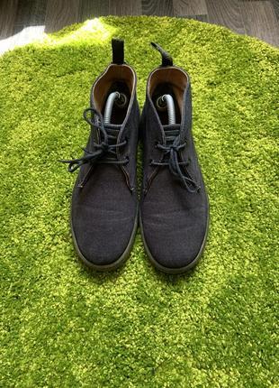 Мужские классические туфли лоферы ботинки dr. martens, размер 42, 27 см2 фото