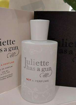 Not a perfume juliette has a gun 10 ml, парфюмированная вода, отливант