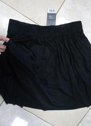 Легкая юбка под замшу с карманами  42-44 esmara германия