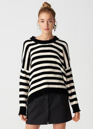 Мохеровый свитер h&m