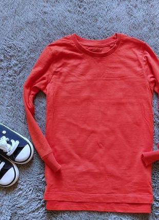 Оранжевый реглан для мальчика