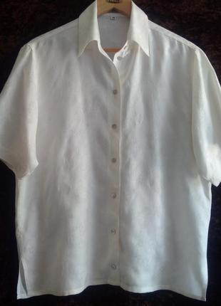 Нежная блуза из шелка