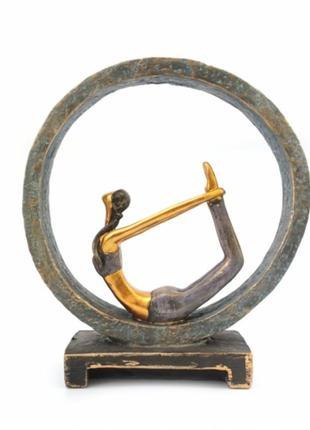 Статуэтка йога №8 полистоун