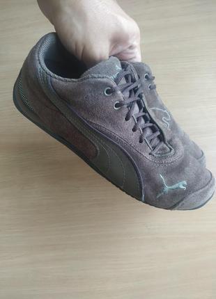 Замшевые кроссовки puma ferrari