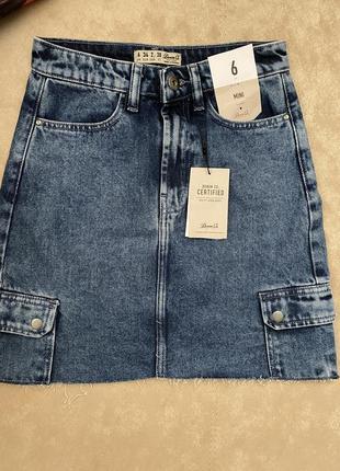 Юбка джинсовая denimco