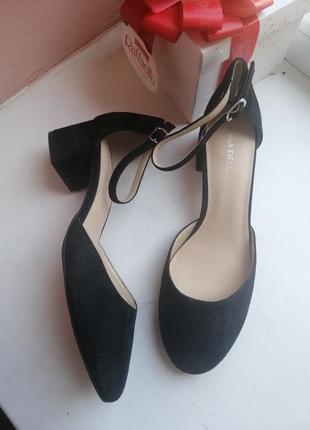 Туфли 39р замша