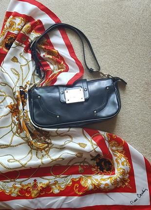 Трендова сумка багет сумочка fiorelli короткий ремінець екошкіра