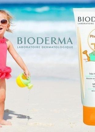 Bioderma photoderm kid lotion сонцезахисне молочко для дітей spf 50+