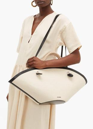 Тканьёвая сумка шопер