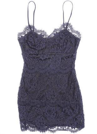 Стильное кружевное платье женское вечернее 32, 34 xxs, xs 4, 6