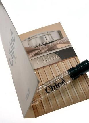 Пробник парфюма chloe eau de parfum