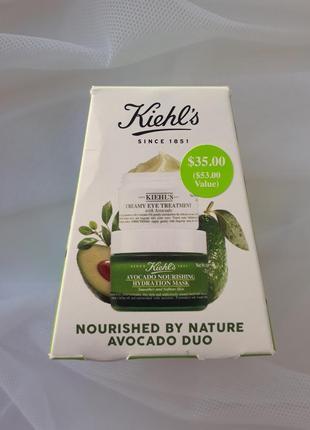 Набор kiehl's avocado duo