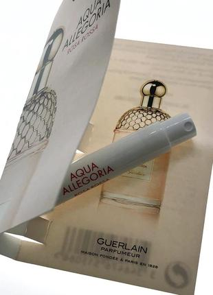 Пробник парфюма guerlain - aqua allegoria rosa rossa