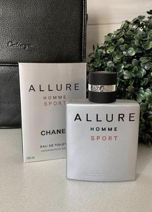 Chanel allure homme sport оригинал_eau de toilette 10 мл затест