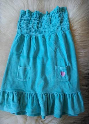 Махровый пляжный сарафан atmosphere домашние платье