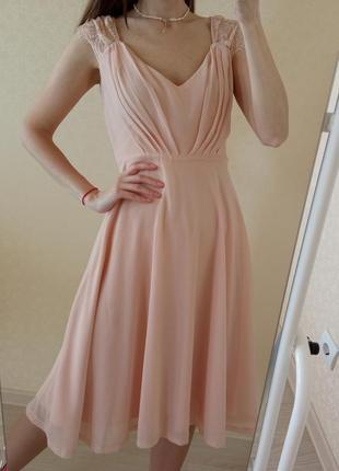Нежное нарядное платье/сукня