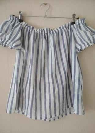 Блузка - топ с открытыми плечами (m)