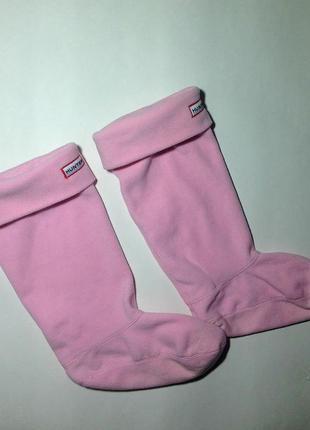 Флисовые носки вкладыши для резиновых сапог hunter