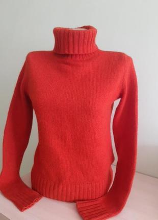 Кашемировий свитер, водолазка  ralph lauren, кашемир/шерсть