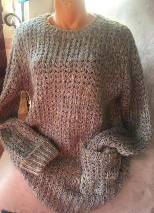 Тёплый свитер кардиган
