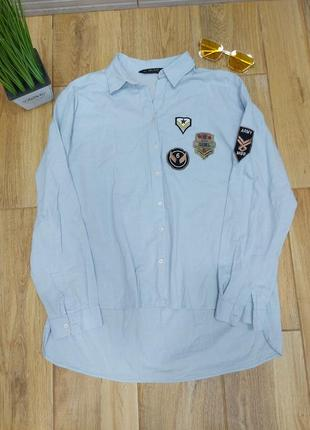 Стильная рубашка zara