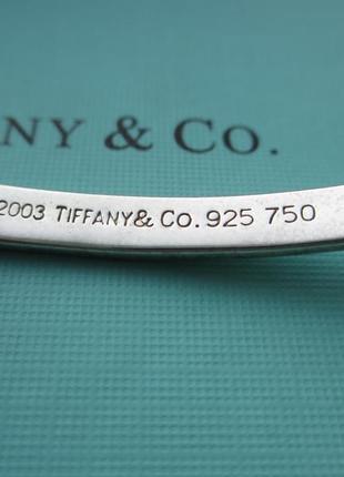 Серебряный браслет tiffany тиффани