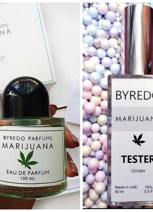 Marijuana арабский тестер 60мл, духи, марихуана, парфюм, туалетная вода, парфуми