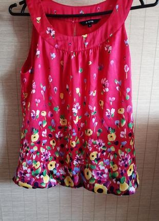 Блуза цветная, яркая