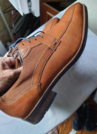 Новые фирменные туфли lloyd германия!  43,5 р. кожа
