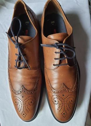 Фирменные туфли lloyd германия! 44,5 р. кожа натуральная