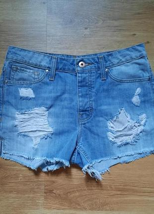 Трендовые джинсовые шорты mango размер s-м