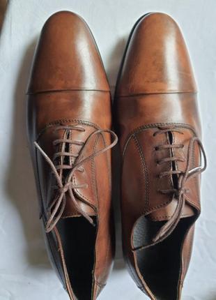 Франция! новые кожаные легкие туфли andré. 43 р.