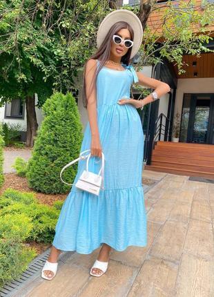 Женский сарафон на лето купить недорого качественный платье летнее