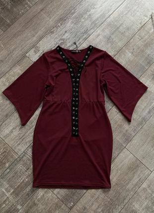 Платье boohoo 14uk l-xl-xxl
