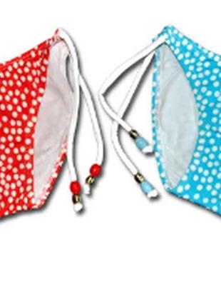 Плавки детские для девочек с завязками