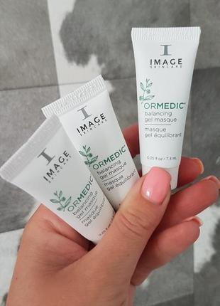 Заспокійлива маска-гель image skincare ormedic balancing gel masque