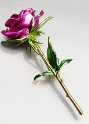 Красивая брошь роза значок / большая распродажа!