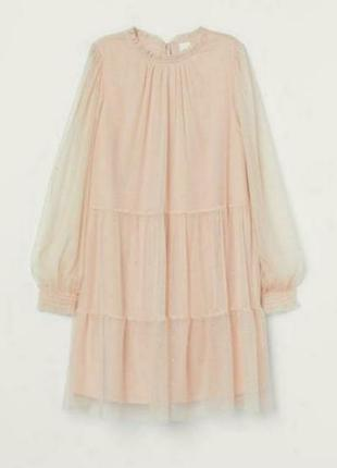 Шикарное платье h&m размер 44-50