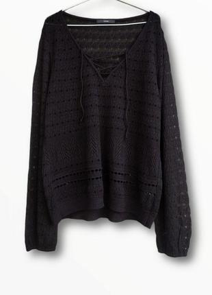 Ажурная кофточка,блузка george большого размера