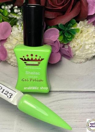 Гель-лак для ногтей master professional №123