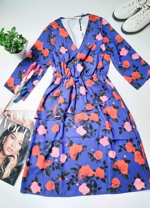Новое летнее платье в цветочный принт