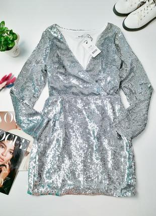 Новое вечернее платье в паетку