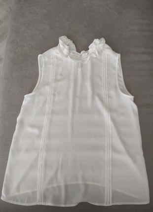 Белая блузка блузка zara