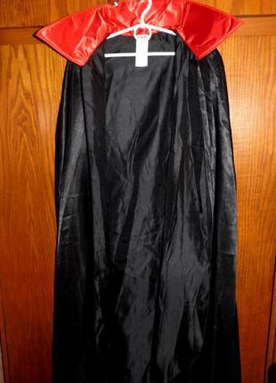Накидка для вампира дракулы, маскарадная на хэллоуин,на нов. год, покупка с германии
