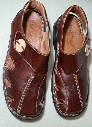 Кожаные босоножки сандоли  josef seibel