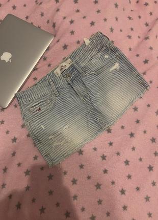 Юбка джинсовая hollister