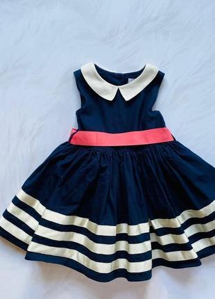 M&s  стильное платье на девочку 1-1,5 года