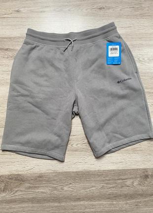 Оригінальні шорти columbia logo fleece short (ax0345-039)